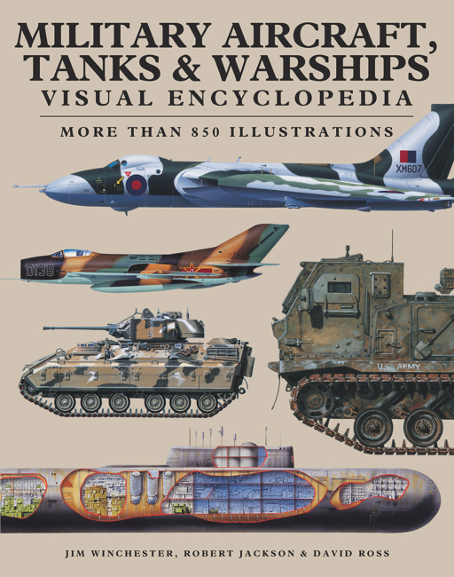 Military Aircraft, Tanks & Warships: Visual Encyclopedia