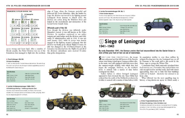 Waffen-SS Divisions 1939-45: The Essential Vehicle