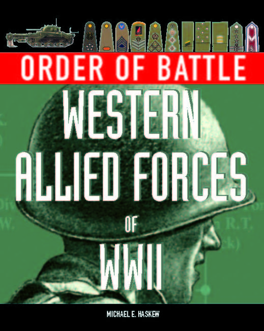 Order of Battle: Western Allied Forces in WWII
