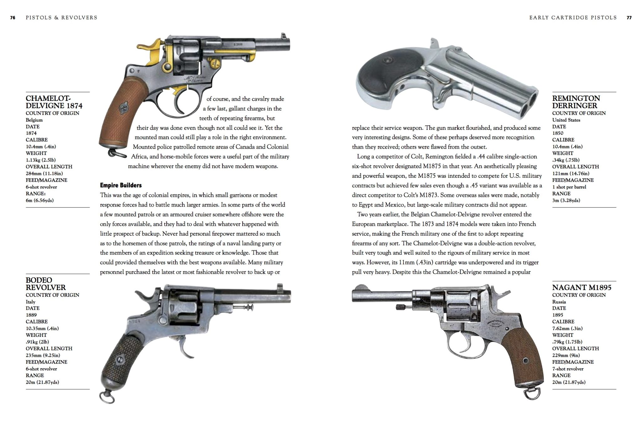 Pistols & Revolvers: Collector's Guides - Amber Books