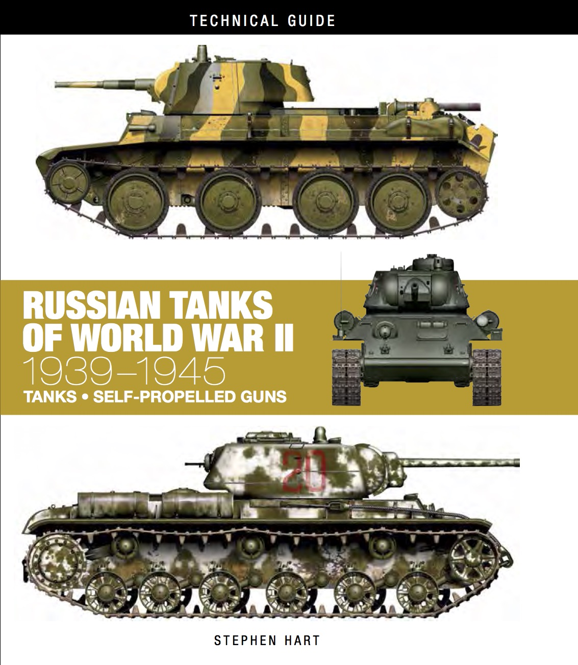 Russian Tanks of World War II: Technical Guide [128pp]