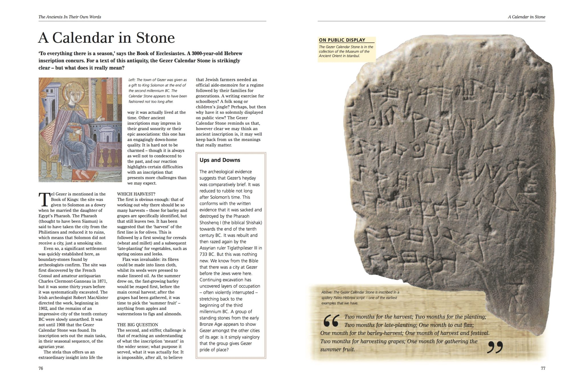 The Ancients In Their Own Words - Amber Books