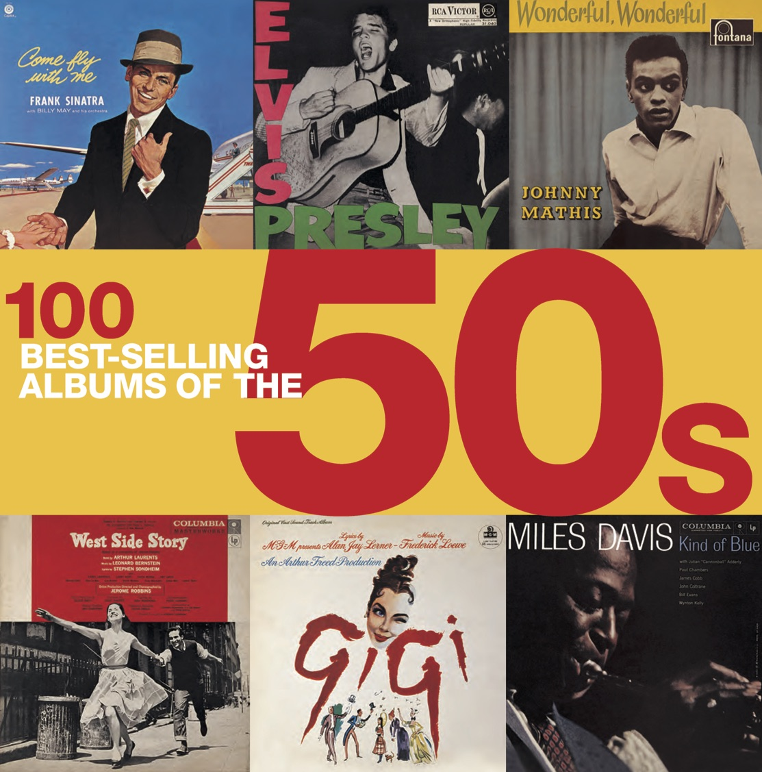 100 Best-Selling Albums of the 50s