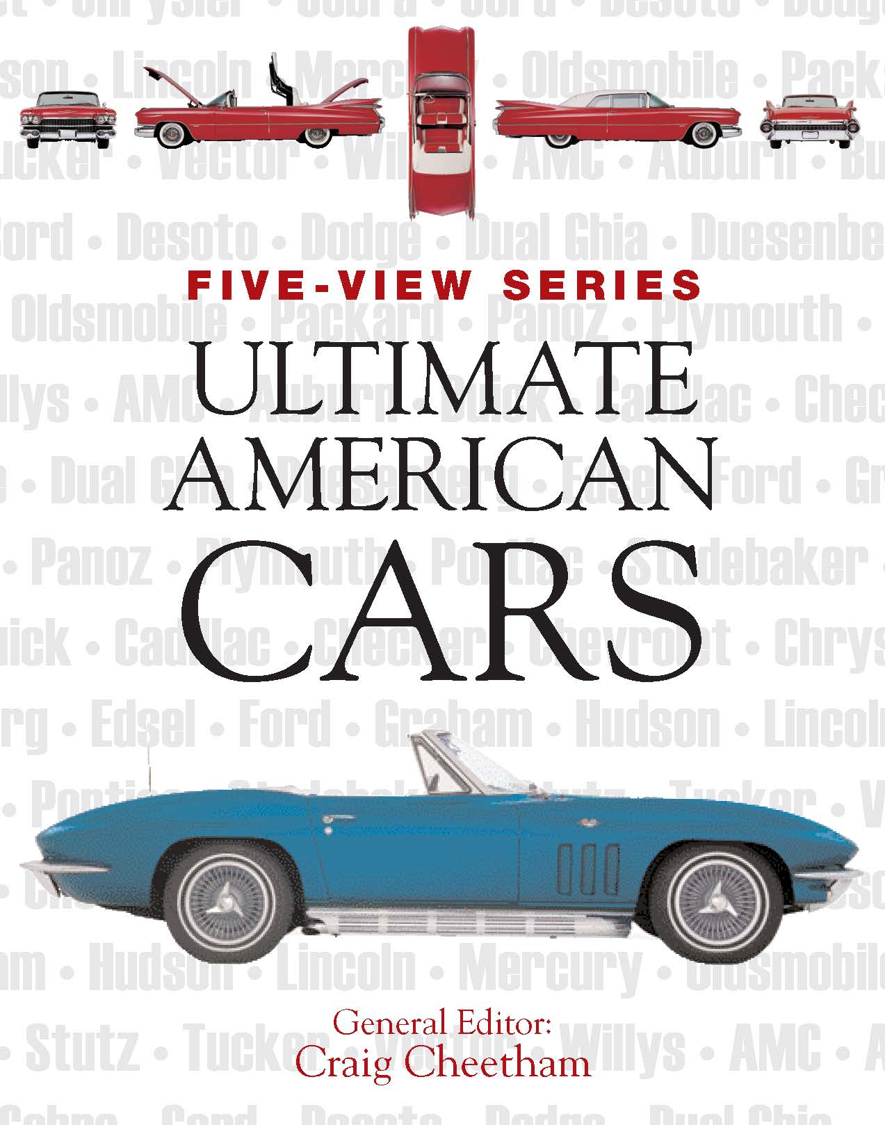 Ultimate American Cars: Five-View Series