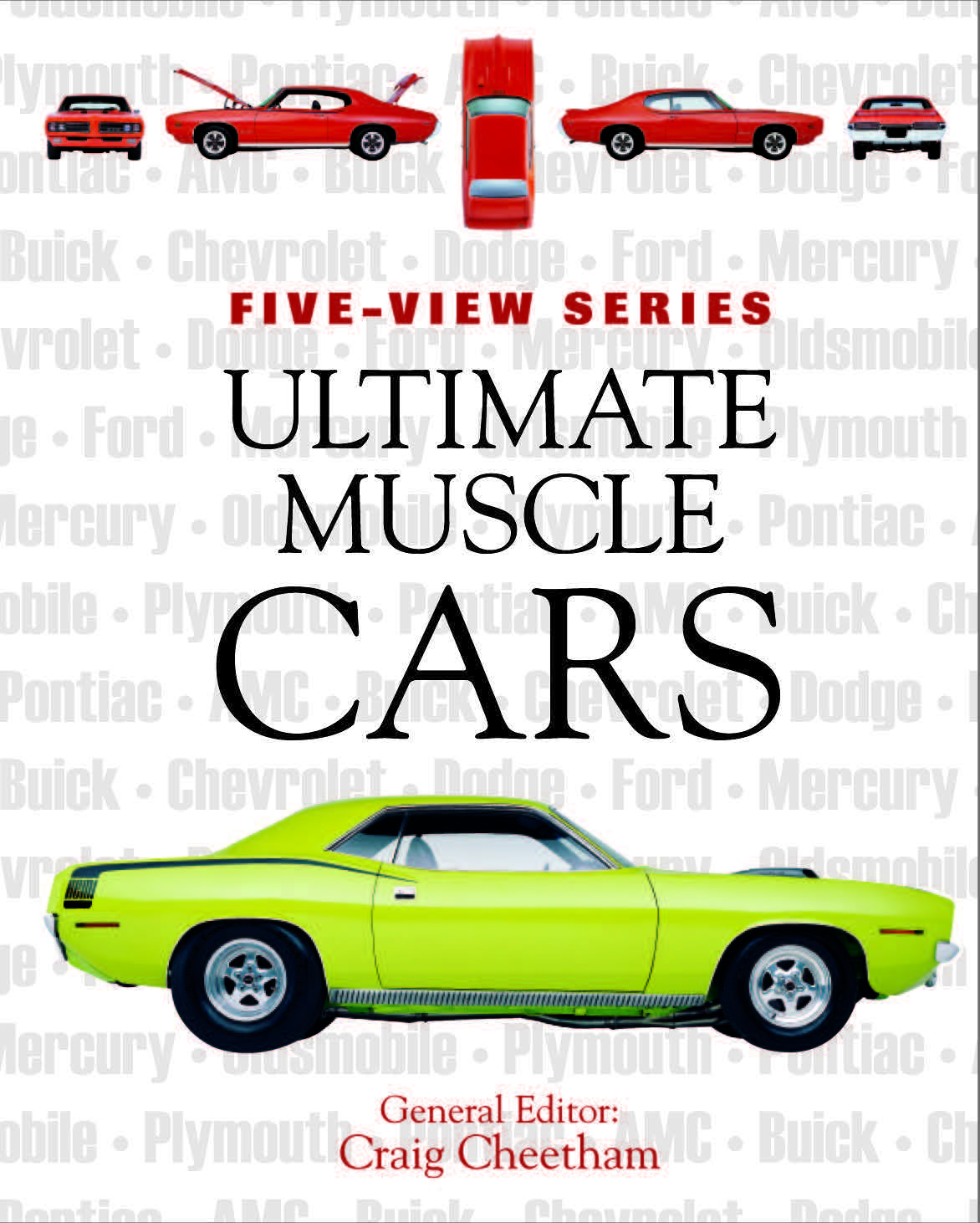 Ultimate Muscle Cars: Five-View Series