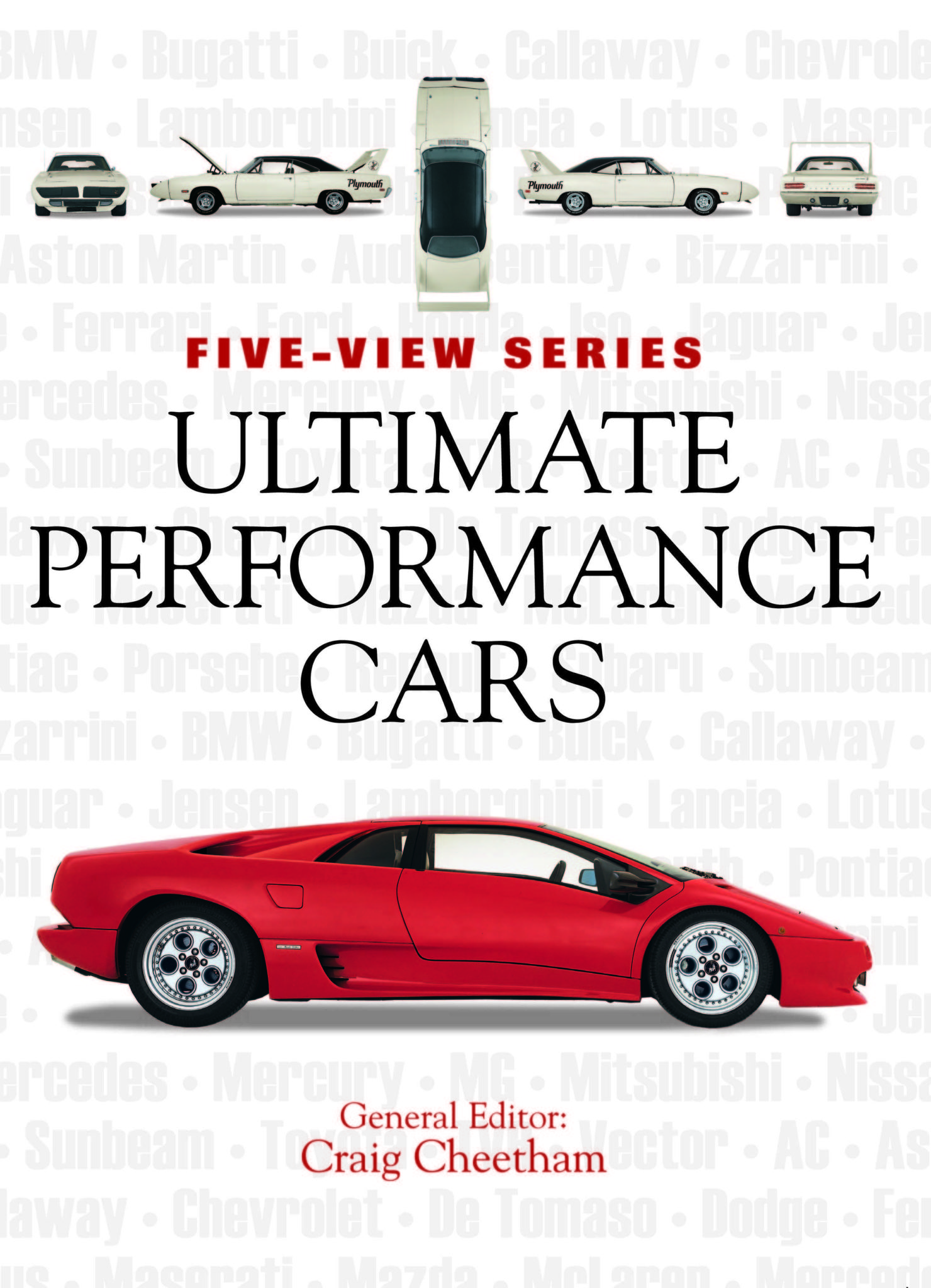 Ultimate Performance Cars: Five-View Series