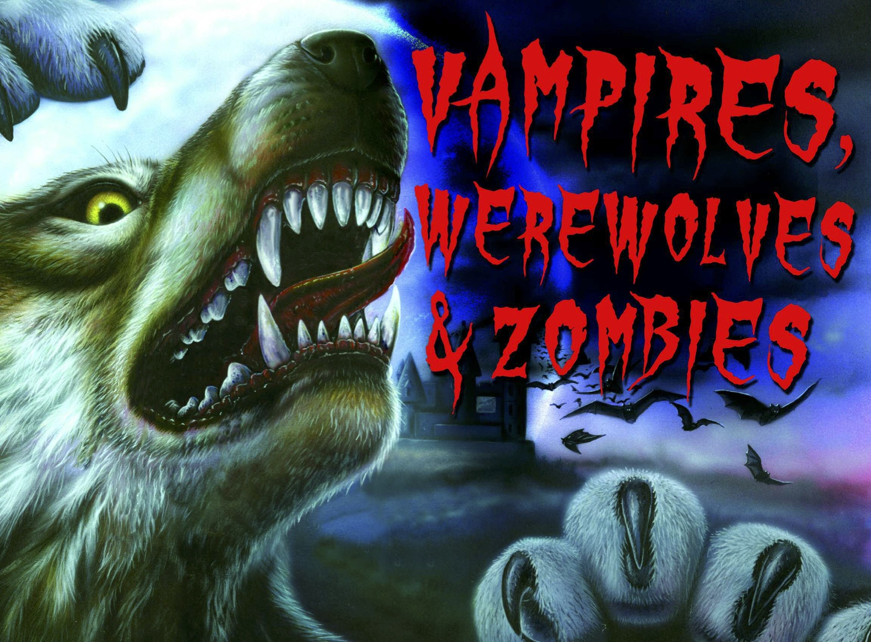 Vampires, Werewolves & Zombies