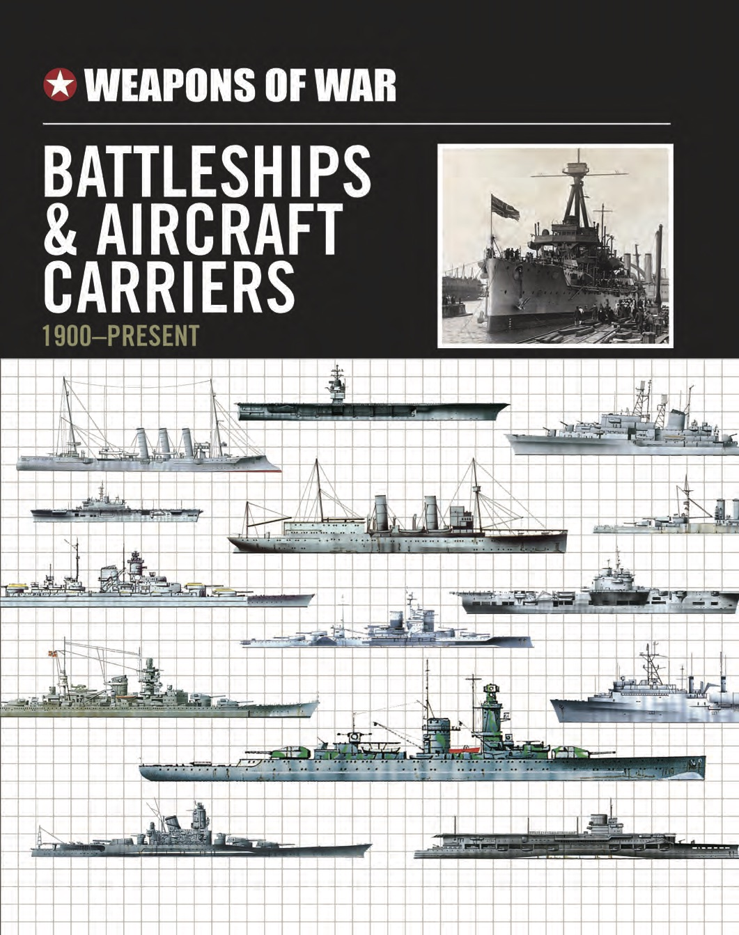 Battleships and Aircraft Carriers 1900–Present – Weapons of War