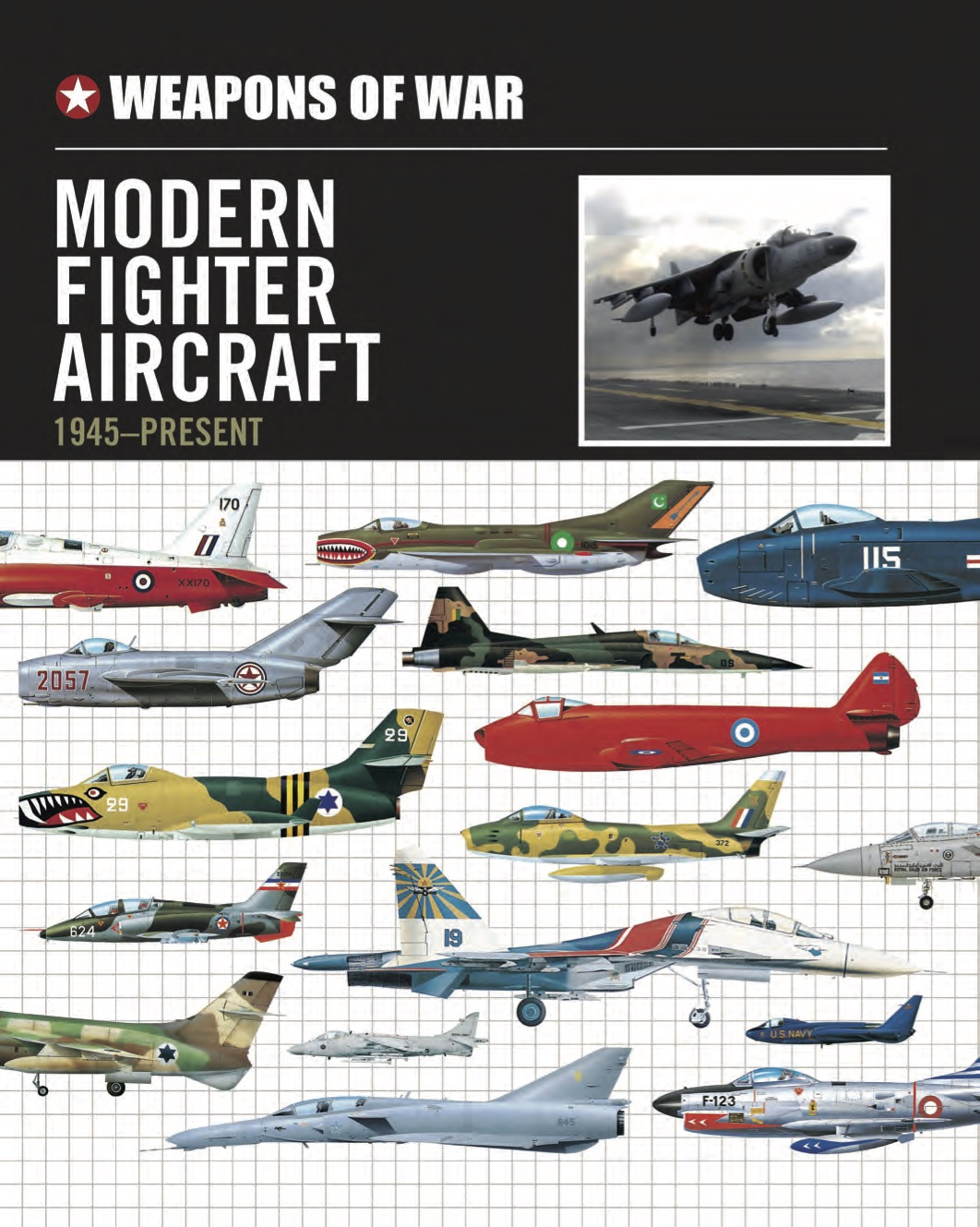 Modern Fighter Aircraft 1945 to the Present Day – Weapons of War