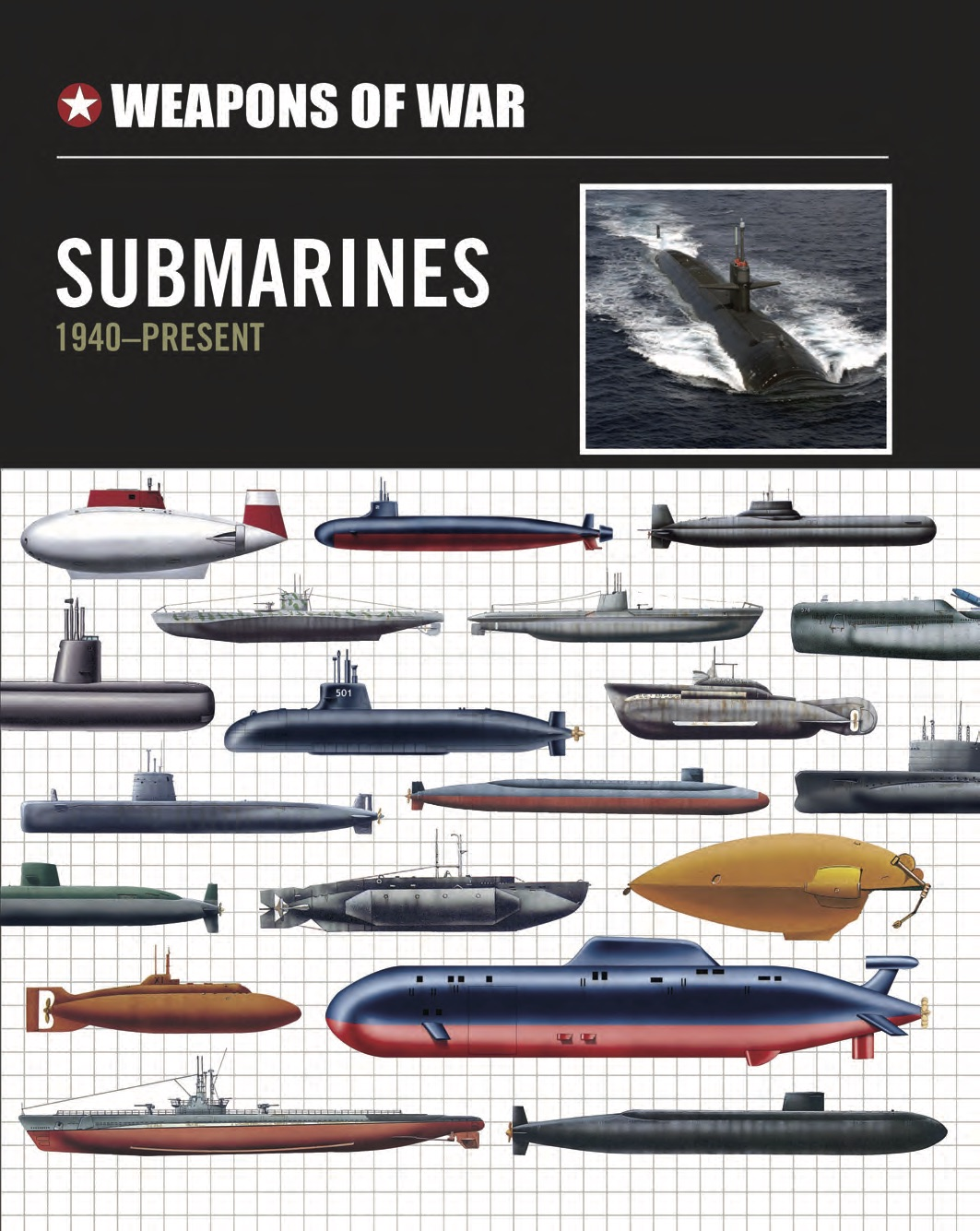 Submarines 1940 to the Present Day – Weapons of War