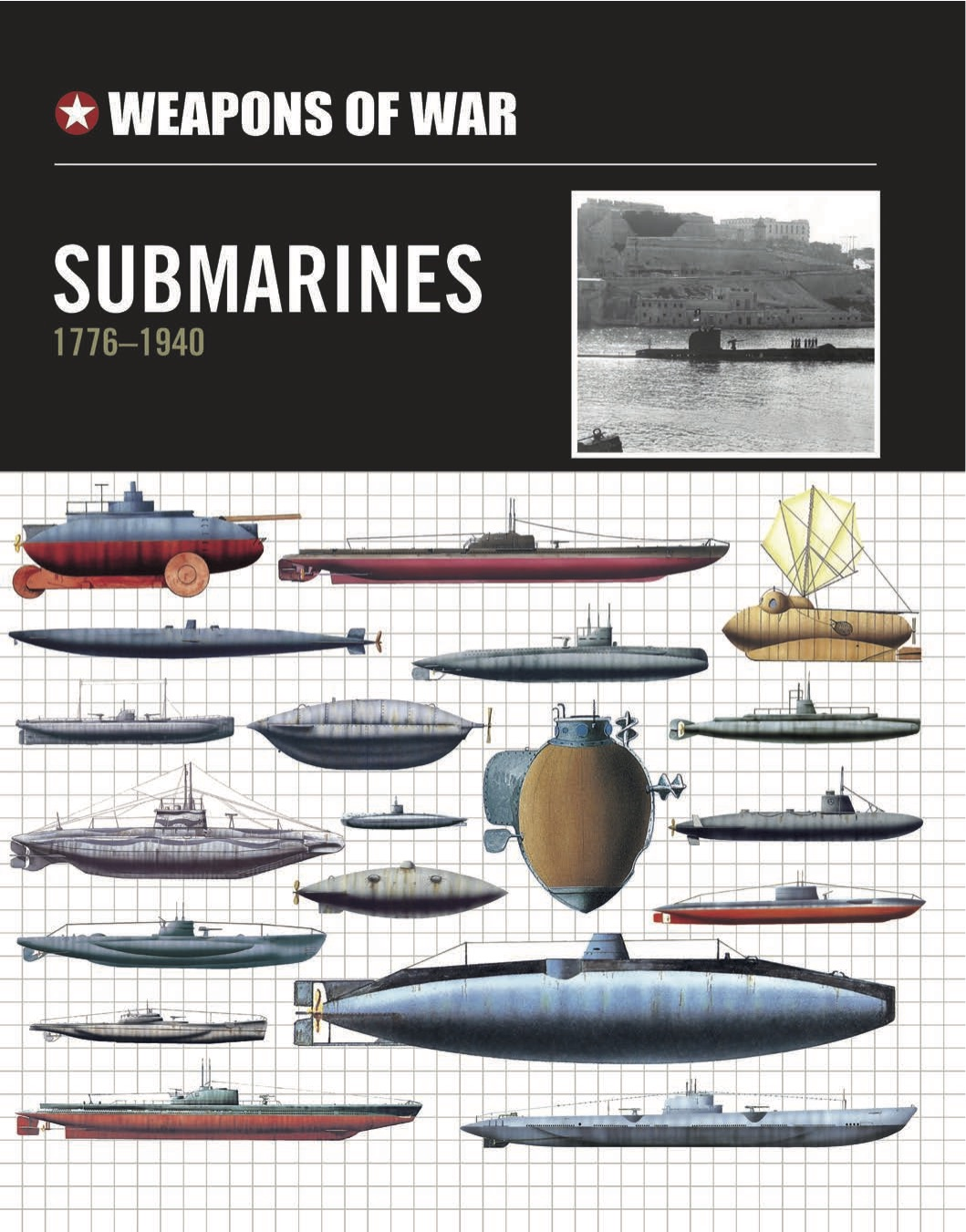 Submarines 1776–1940 – Weapons of War