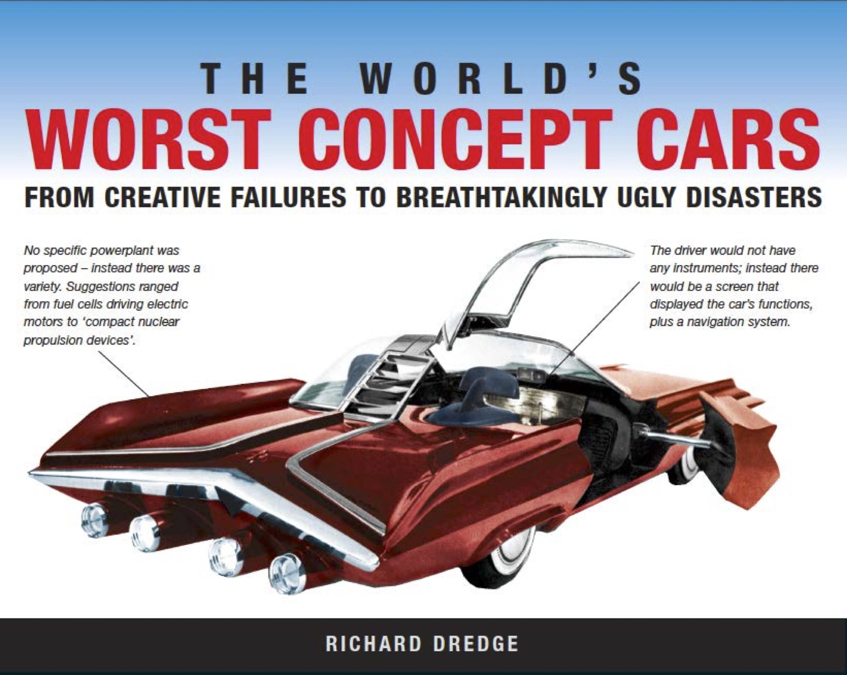 The World's Worst Concept Cars: Landscape Pocket Guides