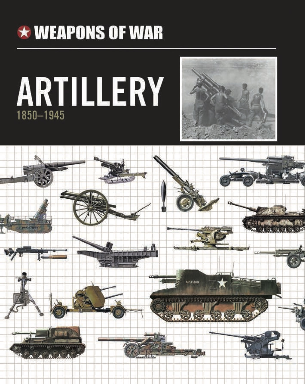 Artillery 1850-1945 – Weapons of War