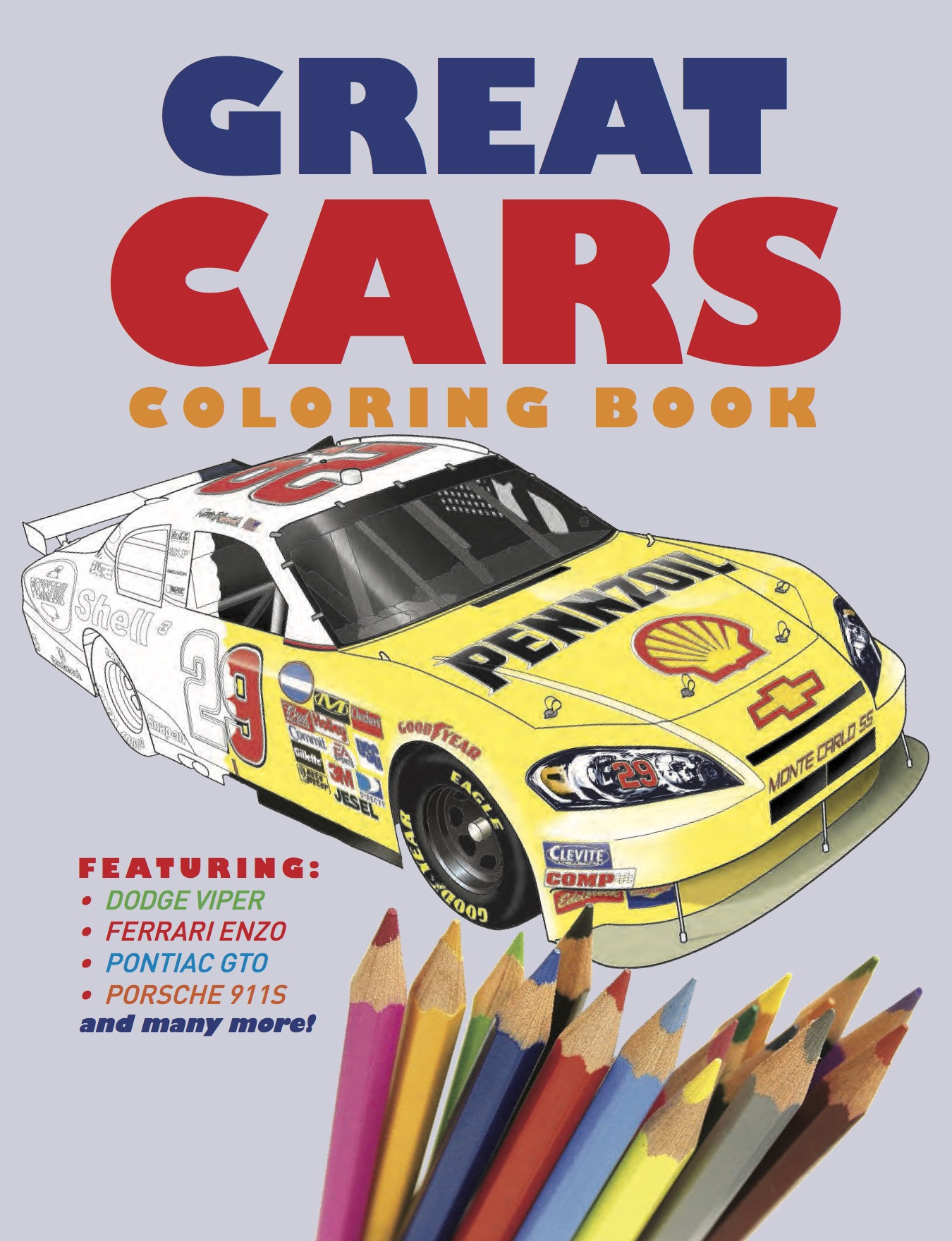 Great Cars Colouring Book