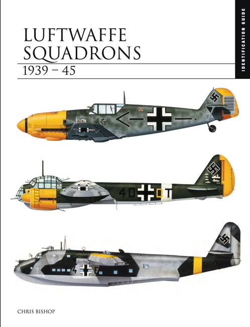 Luftwaffe squadrons id guide cover by Chris Bishop