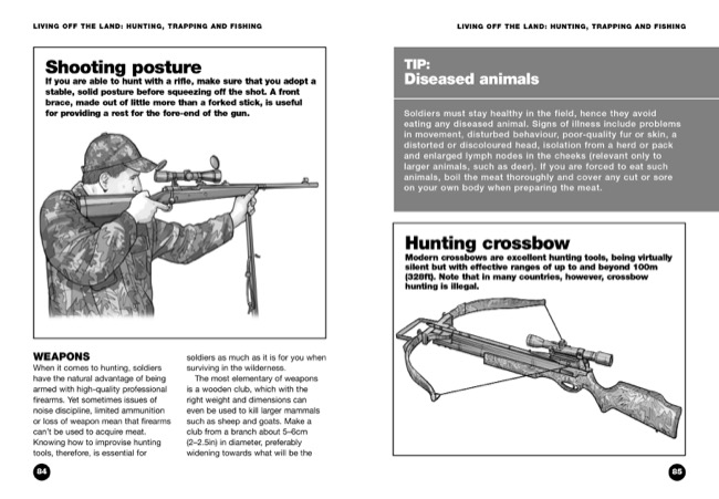 sample pages from Wilderness Survival book by Chris McNab