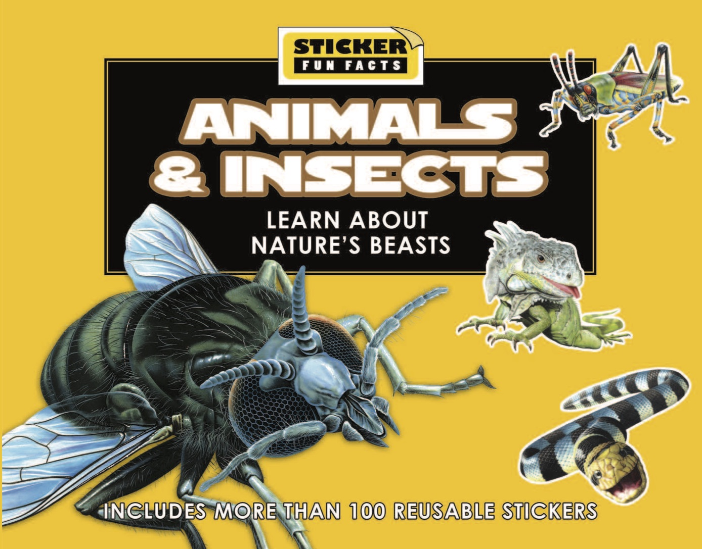 Sticker Fun Facts: Animals & Insects