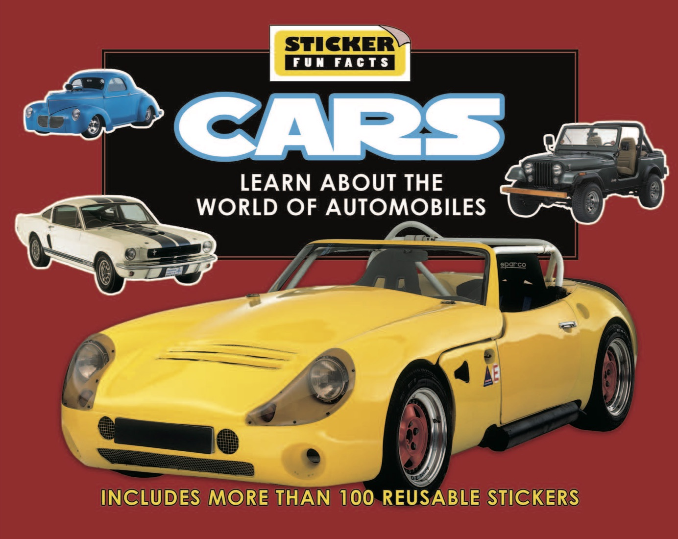Sticker Fun Facts: Cars
