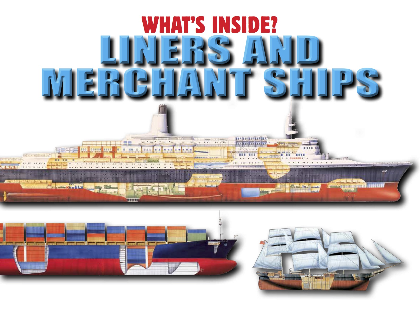 What's Inside? Liners and Merchant Ships