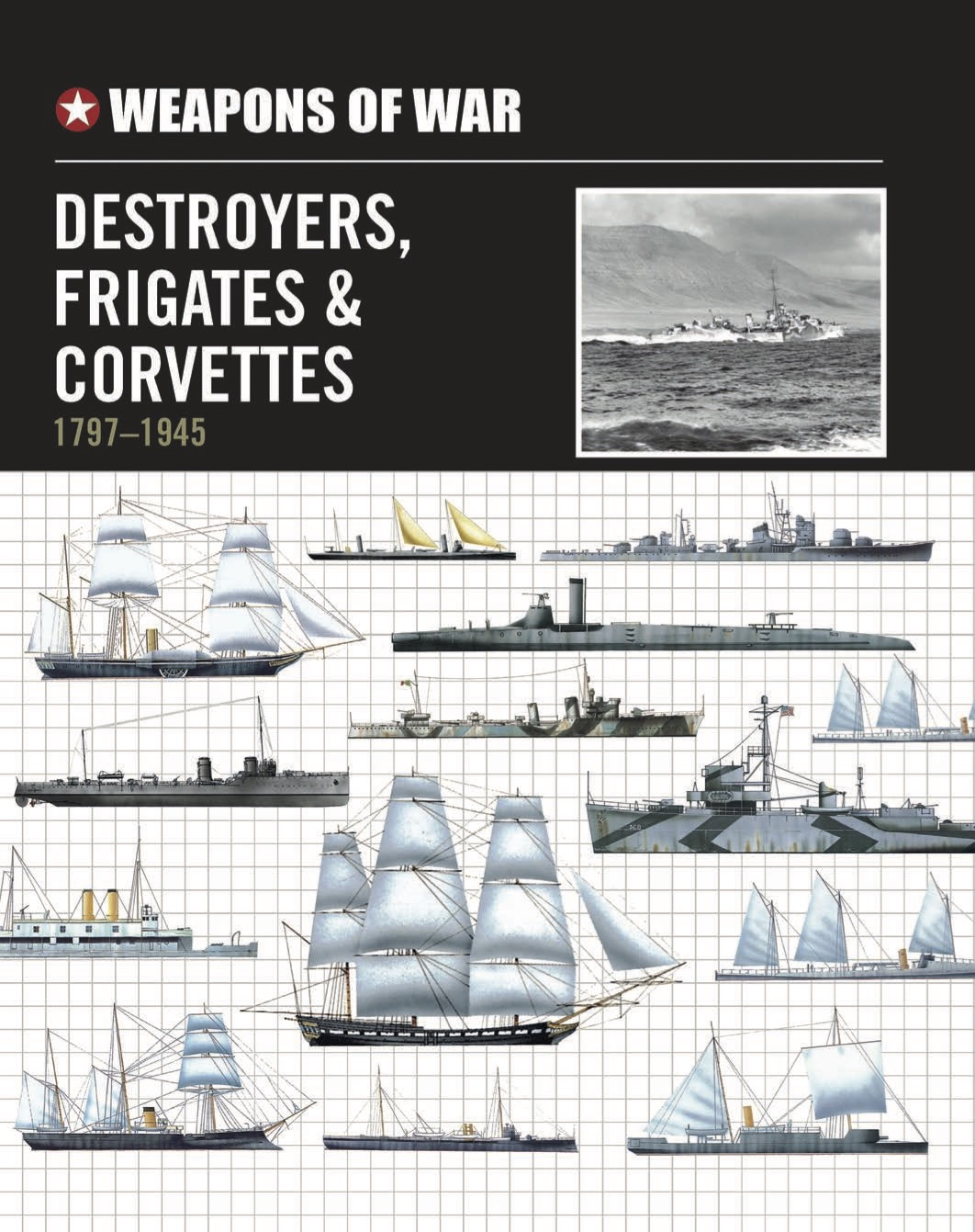 Destroyers, Frigates & Corvettes: 1797-1945 – Weapons of War