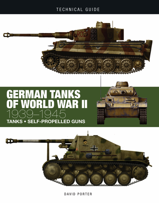 German Tanks of World War II: Technical Guide [224pp]