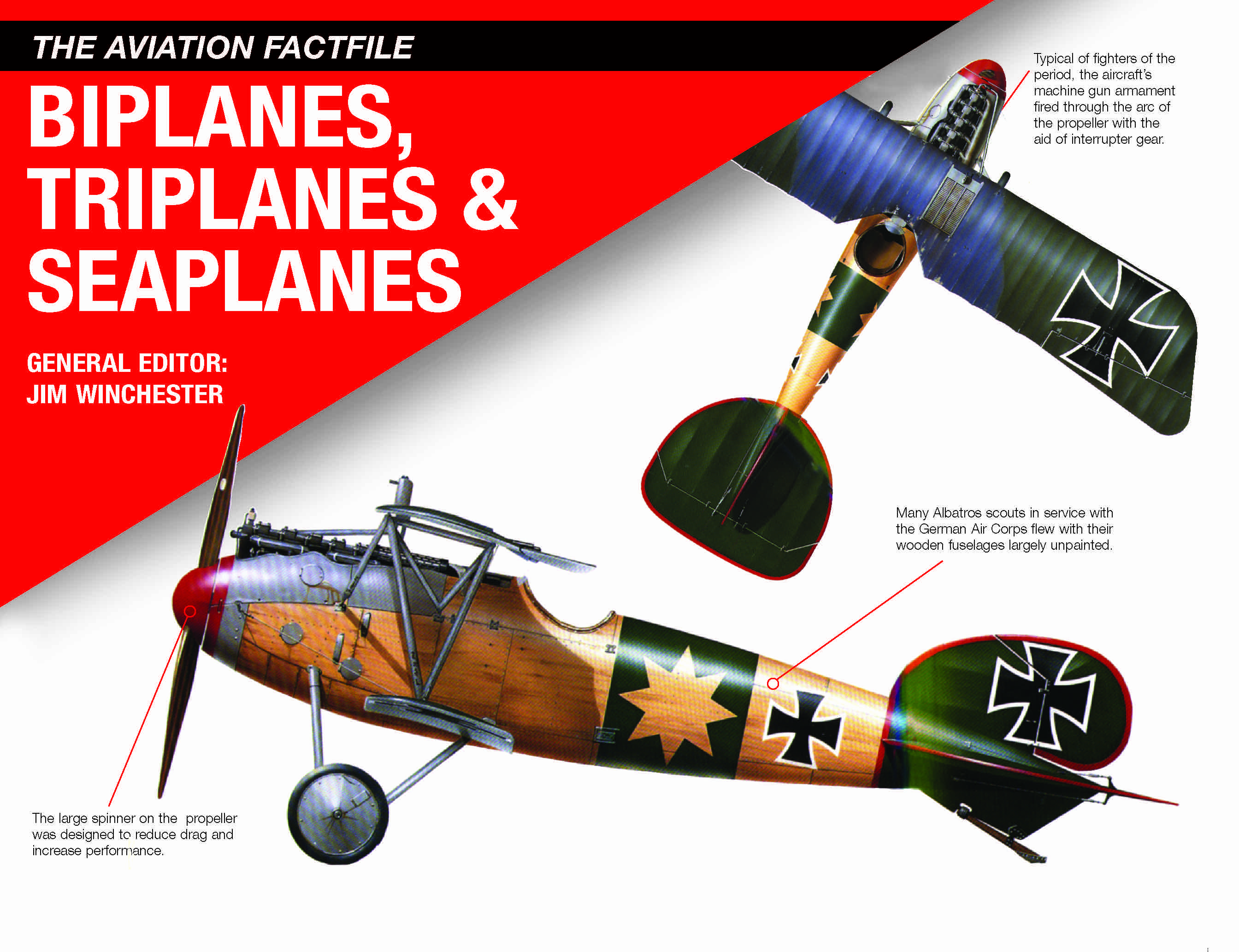 Biplanes, Triplanes and Seaplanes: The Aviation Factfile