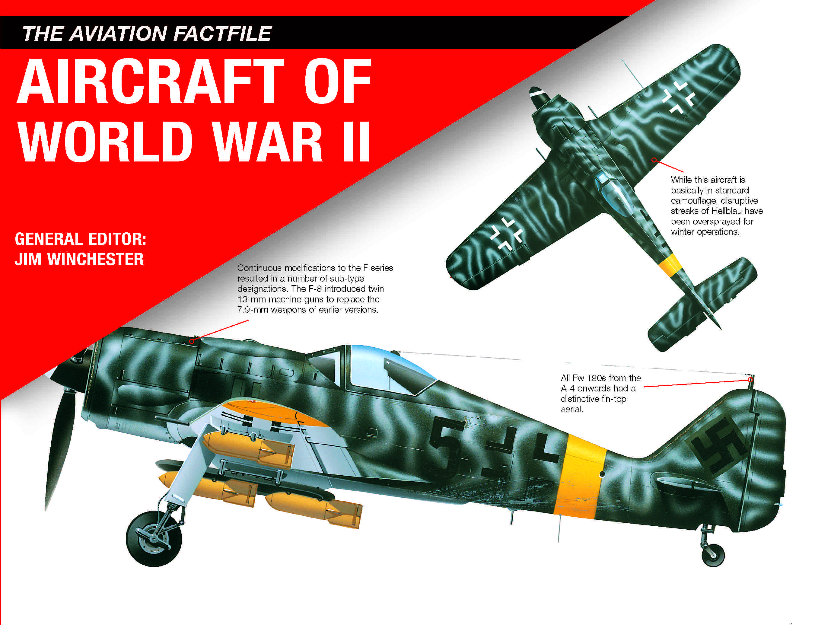 Aircraft of World War II: The Aviation Factfile