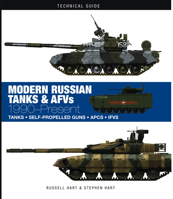 Modern Russian Tanks & AFVs: Technical Guide [128pp]