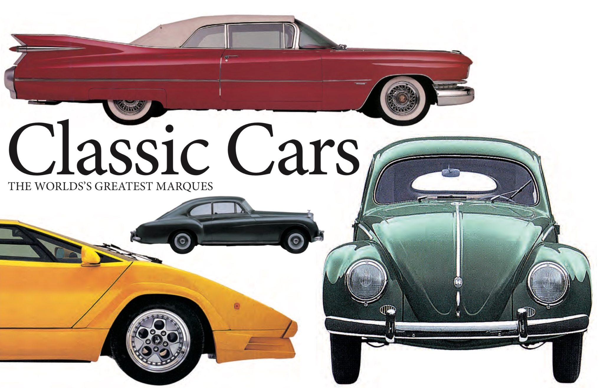 Classic Cars: Landscape Pocket Guides